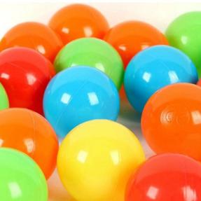 Bolsa de pelotas de plástico