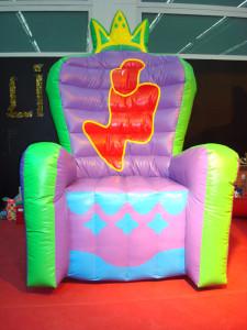 tronos hinchables celebracion infantil